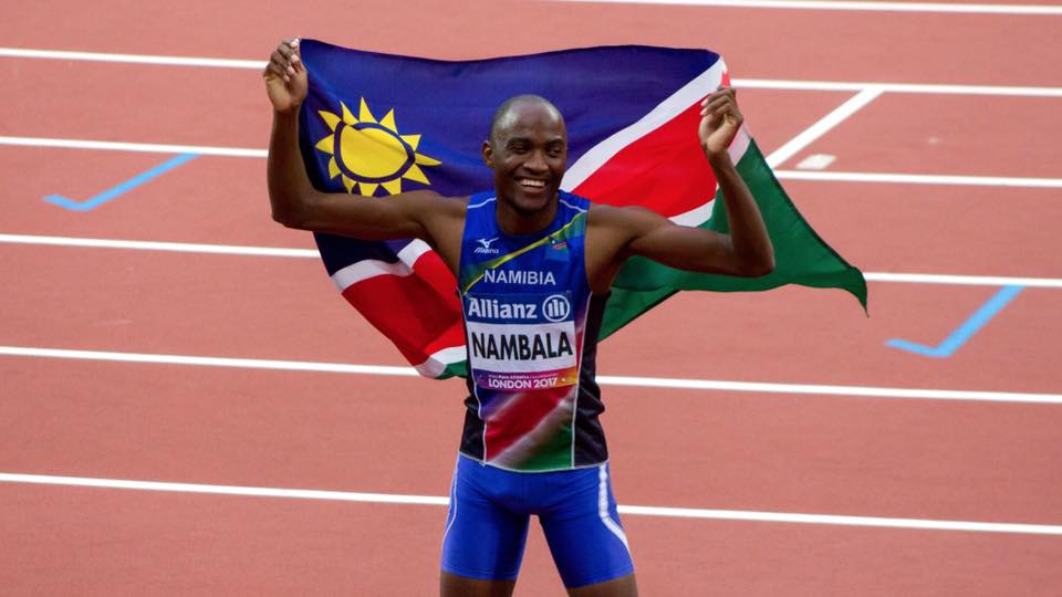 Another Medal for Namibia at the World Para Athletics Championship, London.